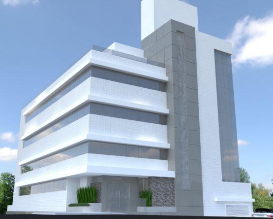 Edificio comercial com 5 pavimentos, otima localizacao. Edificio como publico alvo clinicas medicas e da area da saude.